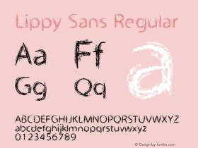 Lippy Sans