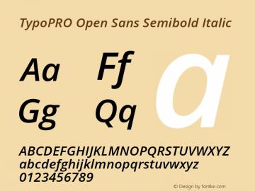 TypoPRO Open Sans Semibold