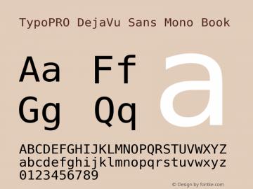 TypoPRO DejaVu Sans Mono