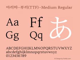아리따-부리(TTF)-Medium