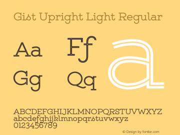 Gist Upright Light