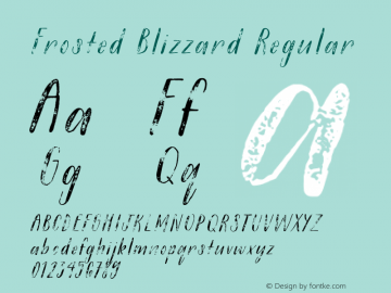 Frosted Blizzard