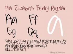 Pea Elizabeth Ashley