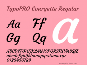 TypoPRO Courgette