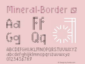 Mineral-Border
