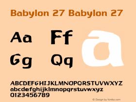 Babylon 27