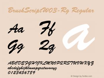 BrushScript-Rg