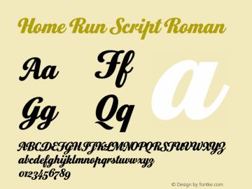 Home Run Script