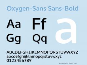 Oxygen-Sans