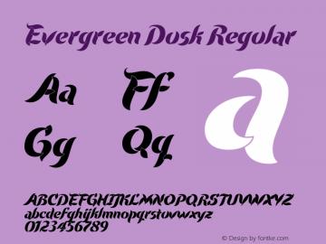 Evergreen Dusk