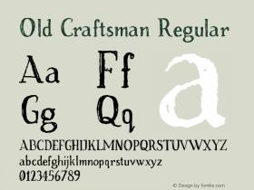 Old Craftsman