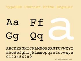 TypoPRO Courier Prime