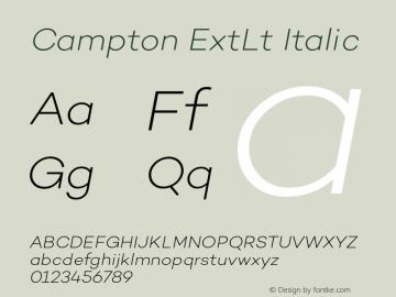 Campton ExtLt