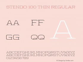 Stendo 100 Thin