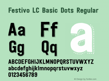 Festivo LC Basic Dots