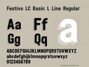 Festivo LC Basic L Line