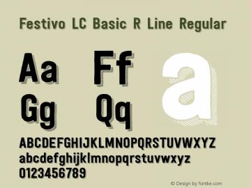 Festivo LC Basic R Line
