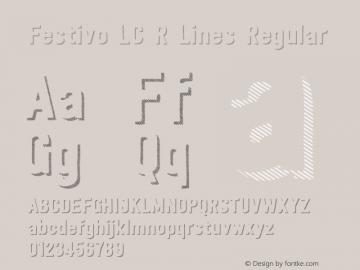 Festivo LC R Lines