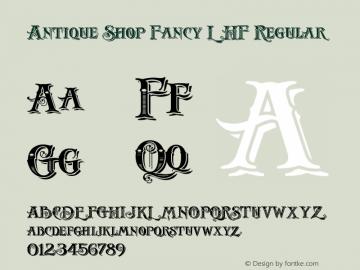 Antique Shop Fancy LHF