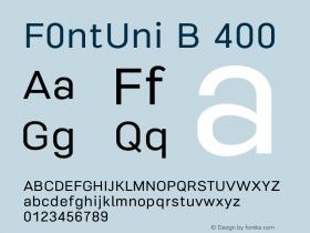 F0ntUni B