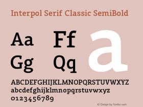 Interpol Serif Classic