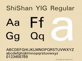 ShiShan YIG