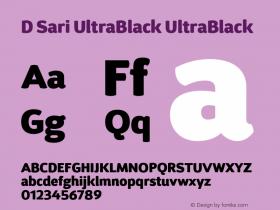 D Sari UltraBlack