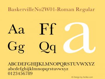 BaskervilleNo2-Roman