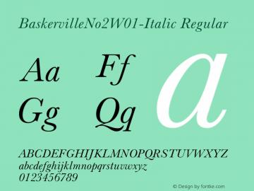BaskervilleNo2-Italic