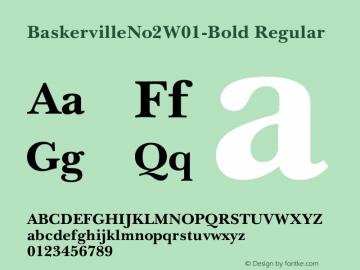 BaskervilleNo2-Bold