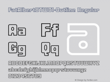 FatAlbertBT-Outline