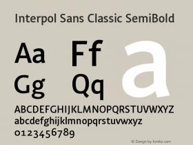 Interpol Sans Classic