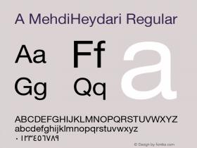 A MehdiHeydari