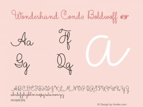 Wonderhand Cond0 Boldwoff