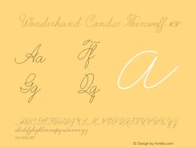 Wonderhand Cond20 Thinwoff