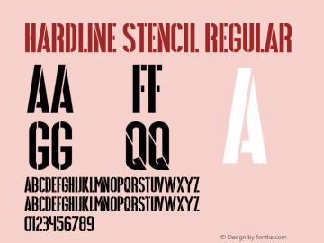 Hardline Stencil