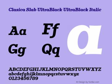Clasica Slab UltraBlack