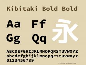 Kibitaki Bold