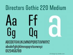 Directors Gothic 220