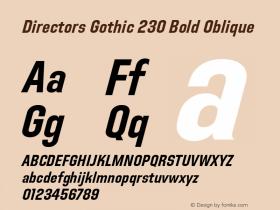 Directors Gothic 230