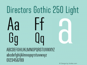 Directors Gothic 250