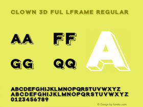 Clown 3D Ful lFrame