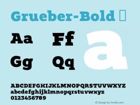 Grueber-Bold