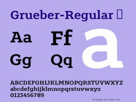 Grueber-Regular