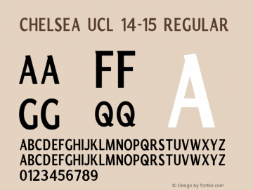 Chelsea UCL 14-15