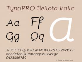 TypoPRO Bellota