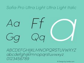 Sofia Pro Ultra Light