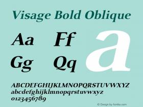Visage Bold