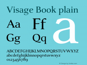 Visage Book