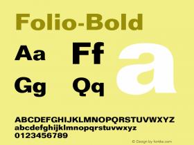 Folio-Bold